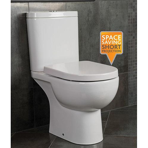 Tonique Close Coupled Toilet & Soft Close Seat
