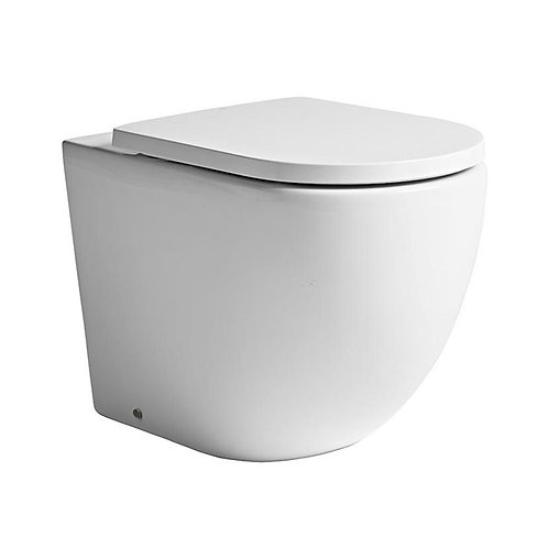 Orbit Wall Hung Toilet & Soft Close Seat