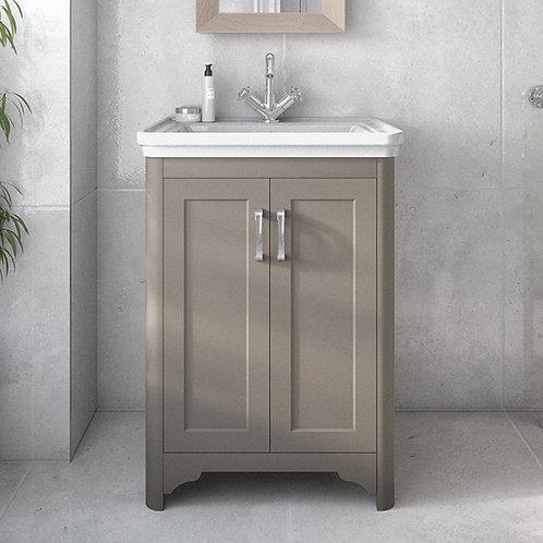 Westminster Grey Freestanding Vanity Unit
