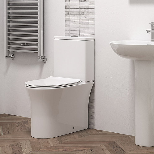 Calla Close Coupled Toilet Pan