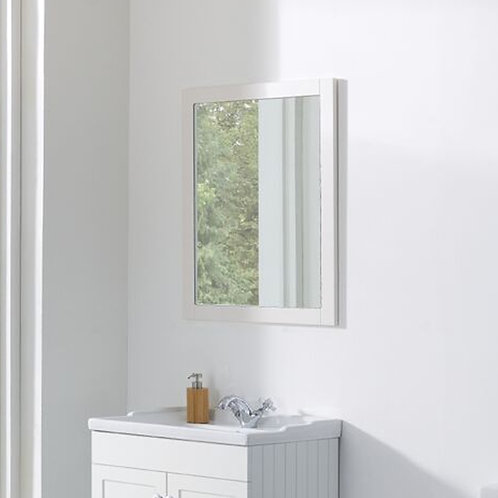 Duke 600mm Framed Mirror White