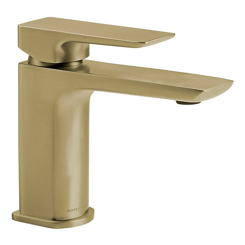 RR Elate Basin Mixer With Click Waste Brass