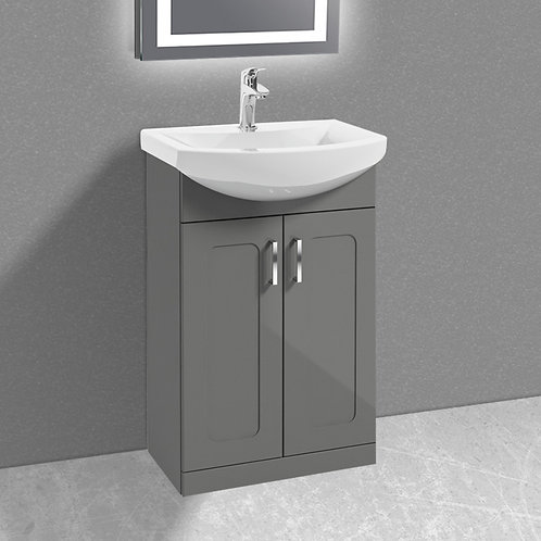 Bristol Vanity Unit & Basin Grey