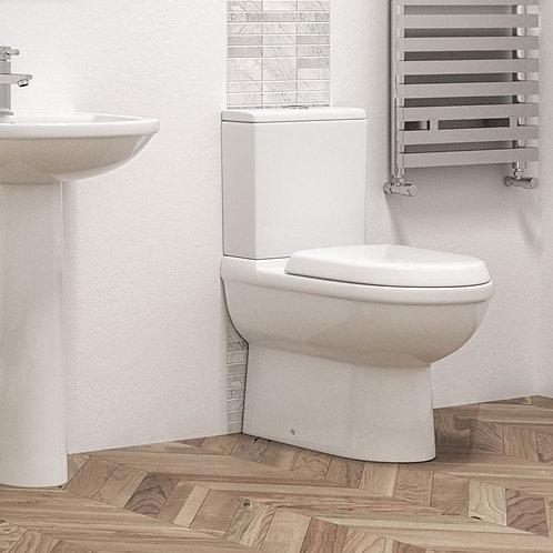 Regina Fully BTW Toilet Pan, Cistern & Seat