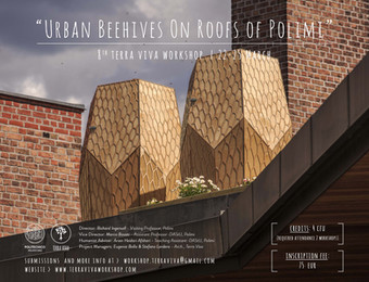 """""""THE URBAN BEEHIVES ON ROOFS OF POLIMI"""" 