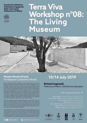 """The Living Museum VI"" | TerraViva WS n°8 | Orani/Sardinia | July 2019"