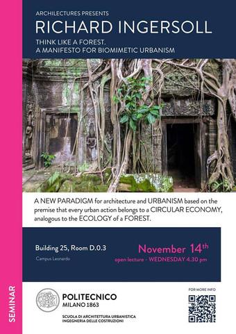 """Think Like a Forest"" | ArchiLectures | Politecnico di Milano | 14.11.2018"
