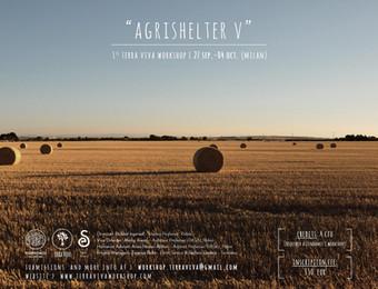 """AGRIshelter V"" | Terra Viva Workshop n° 1 | Milan | September 2018"