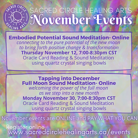 Nov events SACRED CIRCLE HEALING ARTS.pn