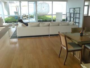 """PISOS DE MADERA: Protección de pisos macizos """"unfinished"""" recién colocados"""