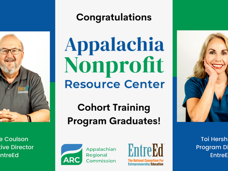 EntreEd's Executive and Program Directors Graduate from ANRC Cohort Training Program