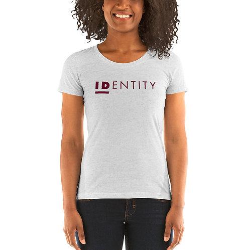 Burgundy Identity Women's Short Sleeve T-Shirt