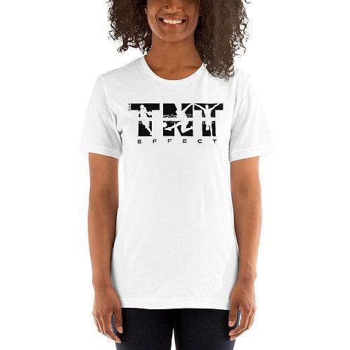 Black Logo Unisex Short-Sleeve T-Shirt
