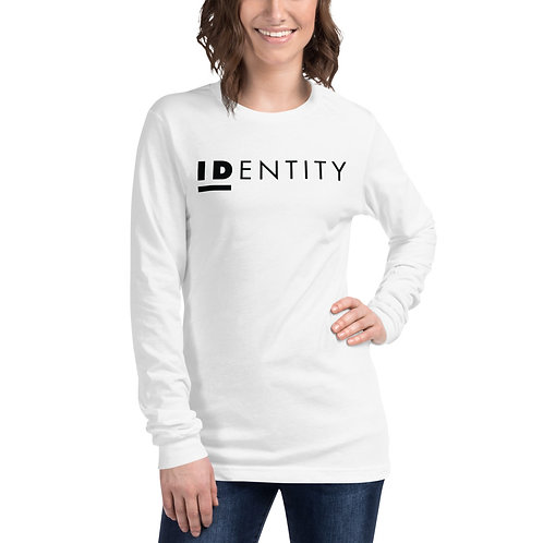 Black Identity Unisex Long Sleeve Tee