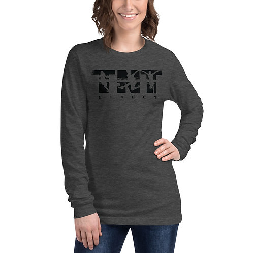 Black Logo Unisex Long Sleeve Tee