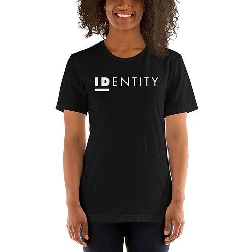 White Identity Unisex Short-Sleeve T-Shirt