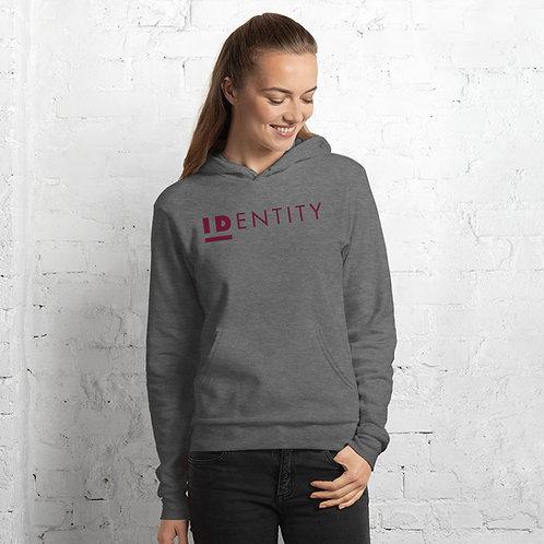 Burgundy Identity Unisex Hoodie