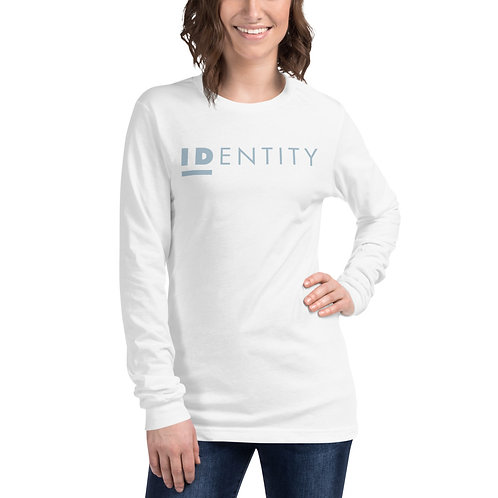 Light Blue Identity Unisex Long Sleeve Tee