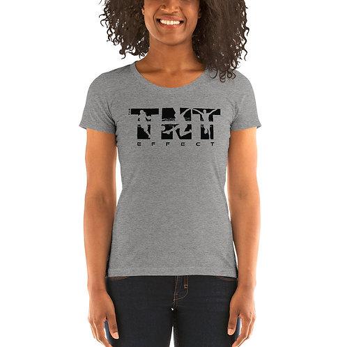 Black Logo Women's Short Sleeve T-Shirt