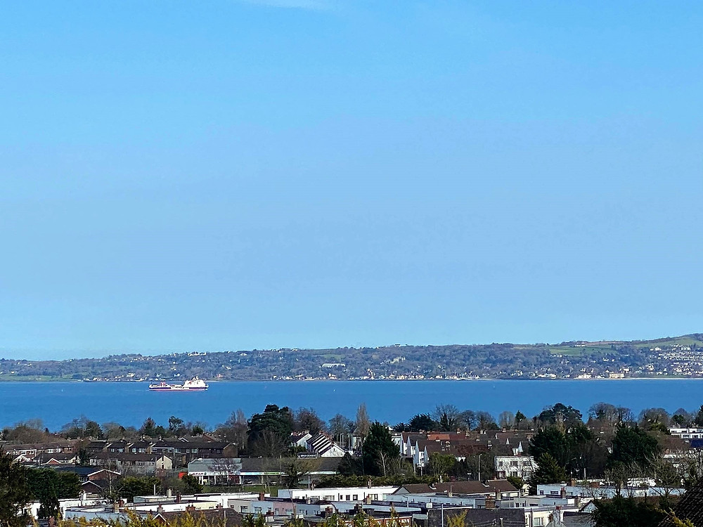 Belfast Lough (Photo taken by Clare Campbell)