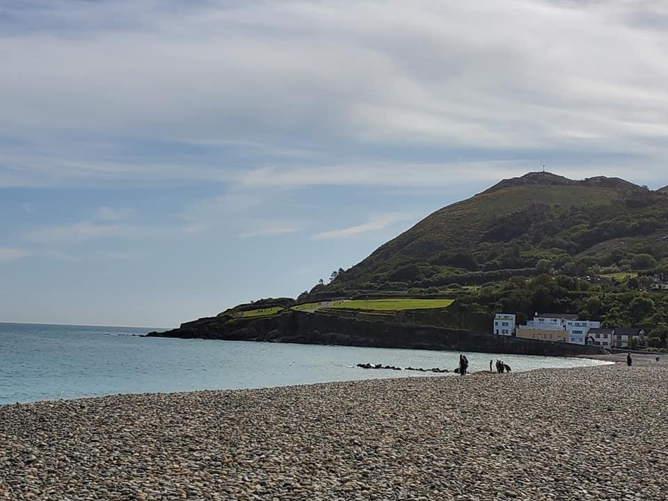 Bray Head from the Irish Sea Beach