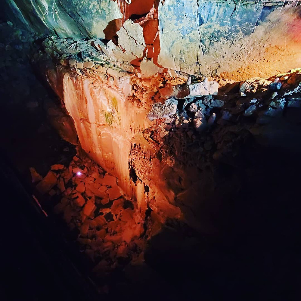 Inside the Aillwee Cave