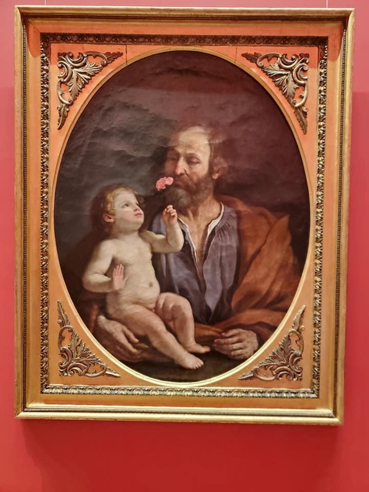 Jesus and Joseph, a rare portrait
