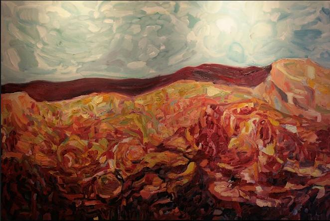 Atlas Mountains (2015) (SOLD)