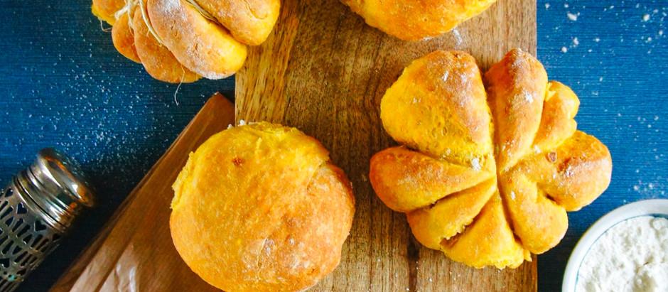 Petits pains à la courge