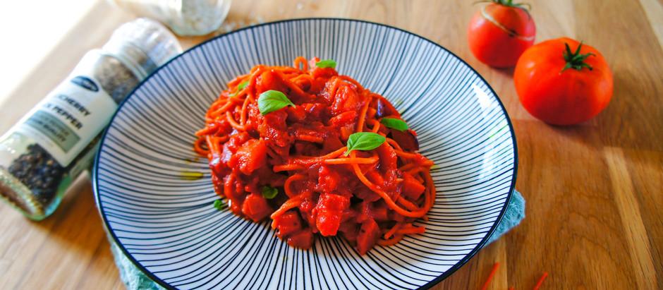 Sauce tomate améliorée