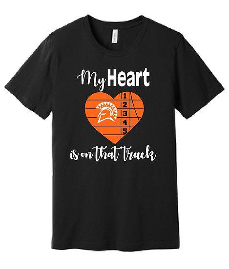 Spartan Track (My Heart) Spirit Wear