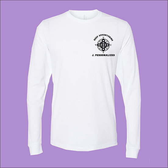 CHESS Christian Long Sleeve T-shirt - Keep Adventuring
