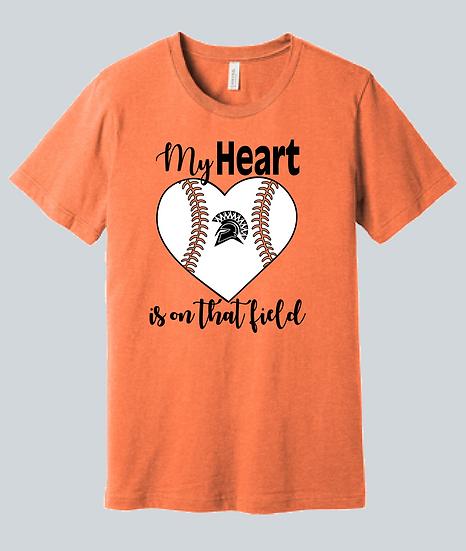 Spartan Baseball (My Heart) Spirit Wear