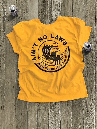 Ain't No Laws Short Sleeve Tee