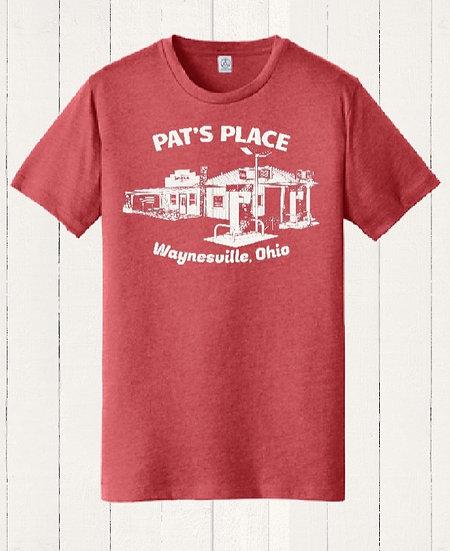 Pat's Place 2020 Commemorative T-shirt (White Print)