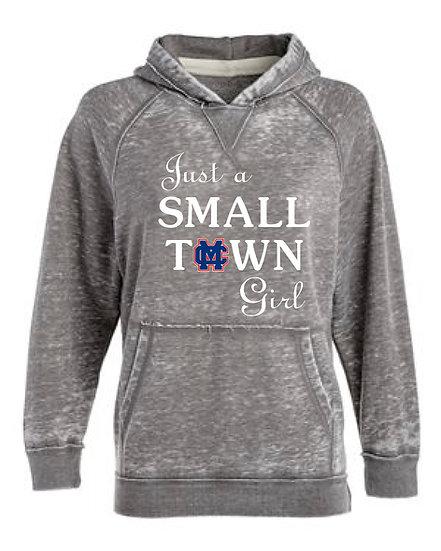 Just a SmallTown Girl Hoodie (Clinton Massie)