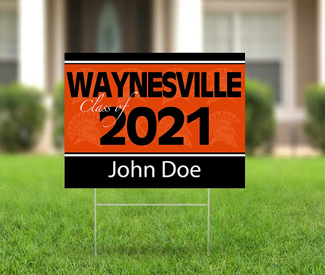 WHS Class of 2021 Yard Sign