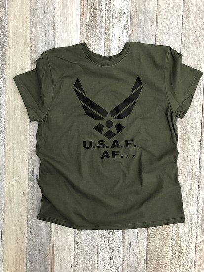 AF as AF Short Sleeve Tee