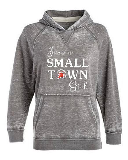 Just a Small Town Girl Hoodie (Waynesville)