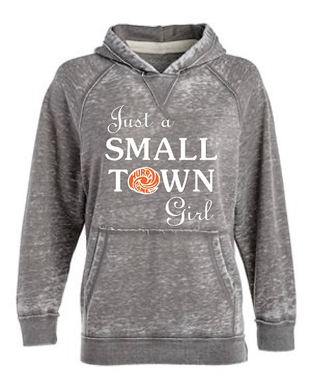 Just a SmallTown Girl Hoodie (Wilmington)