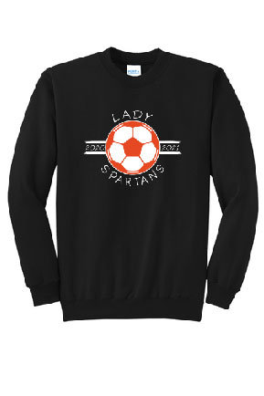 Lady Spartans Soccer 2020 Spiritwear