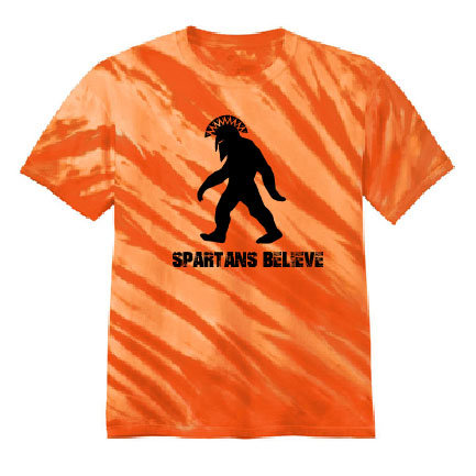 Spartans Believe Spiritwear