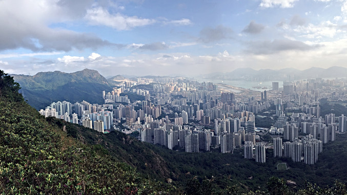 70% of Hong Kong is Non-residential Area