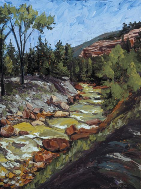 Uncompahgre River - Summer
