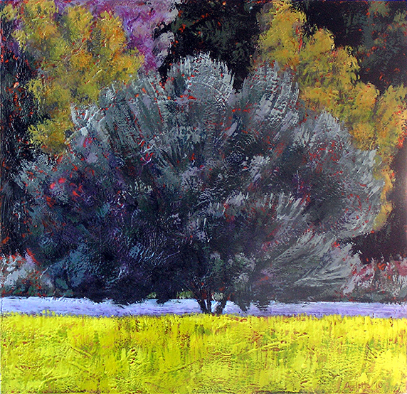 Olive Tree with Mustard