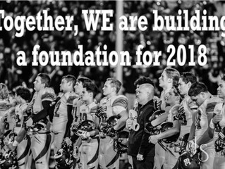 Building a Firm Foundation for 2018!