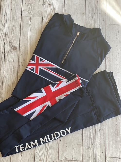 'TEAM MUDDY' SUMMER LEGGINGS