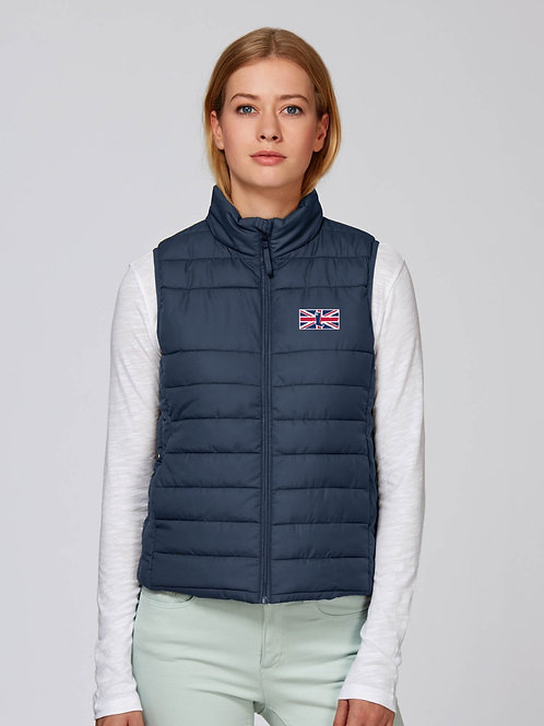 'THE MUDDY BRIT' LADIES BODY WARMER