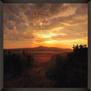 Tangerine Sunset over the Darien Gap