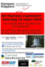 Affiche - Halve Marathon Sint Anthonis 2019